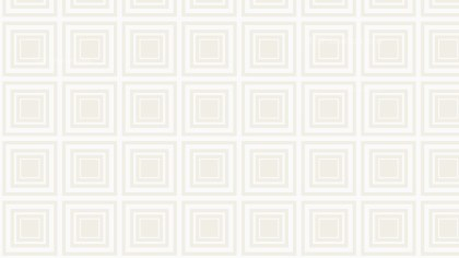 White Concentric Squares Pattern Background