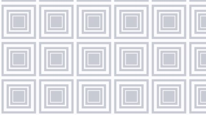 White Concentric Squares Background Pattern