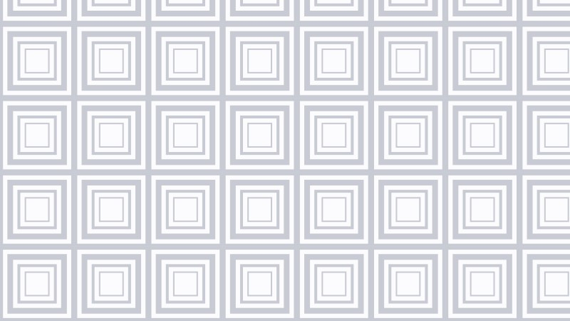 White Seamless Concentric Squares Pattern