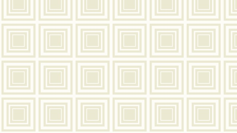 White Seamless Concentric Squares Pattern Background