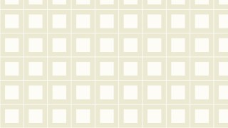 White Square Pattern Design