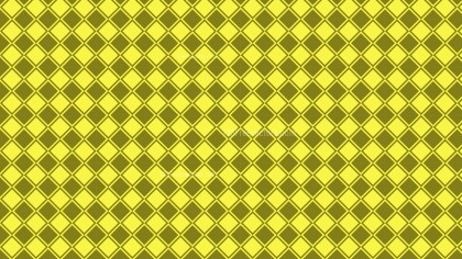 Yellow Geometric Square Pattern Vector Image