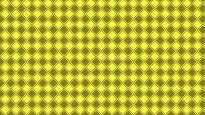 Yellow Geometric Square Pattern Vector Image