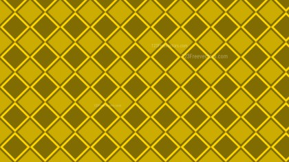 Yellow Seamless Square Pattern Background Vector Art