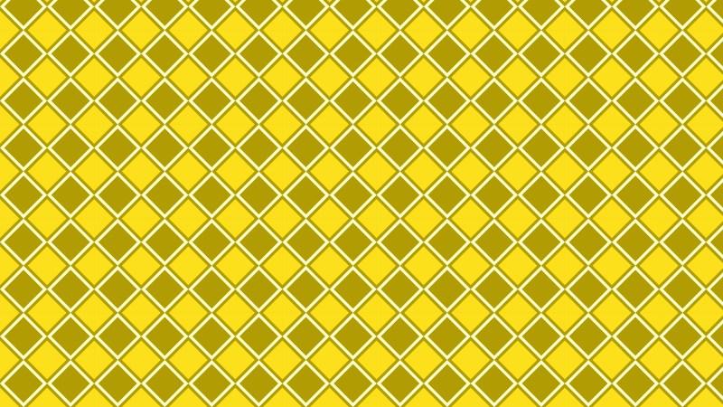 Yellow Seamless Geometric Square Pattern Background Design