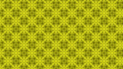 Yellow Seamless Square Pattern
