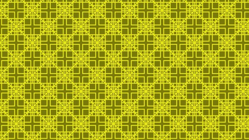Yellow Seamless Square Pattern