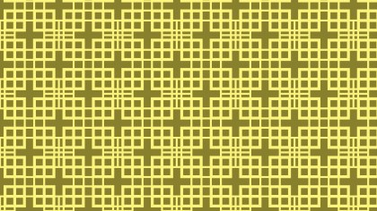 Yellow Square Background Pattern Vector