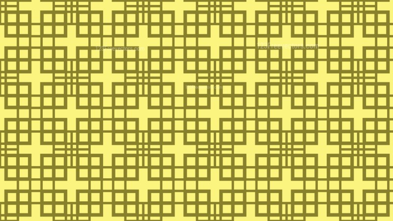 Yellow Geometric Square Pattern Vector Art