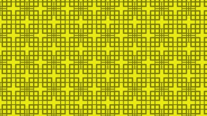 Yellow Geometric Square Background Pattern Illustration