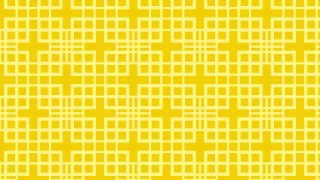 Yellow Seamless Square Pattern Design