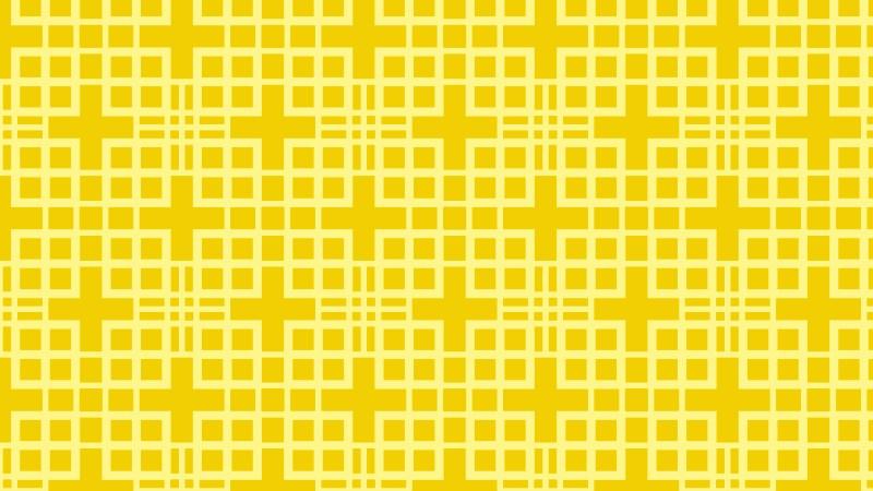 Yellow Seamless Square Pattern Design