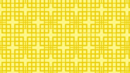 Yellow Seamless Square Pattern Background Image