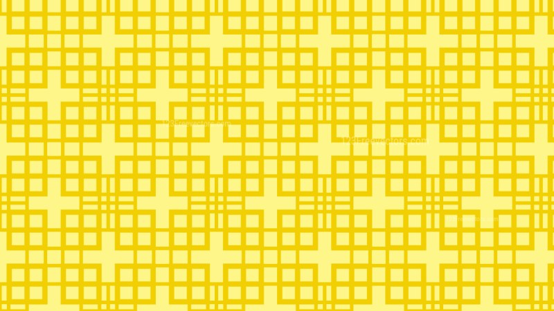 Yellow Seamless Square Pattern Background Image