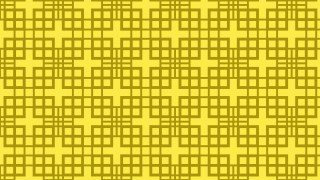 Yellow Seamless Geometric Square Pattern Vector Image
