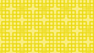Yellow Seamless Geometric Square Pattern Background Illustrator