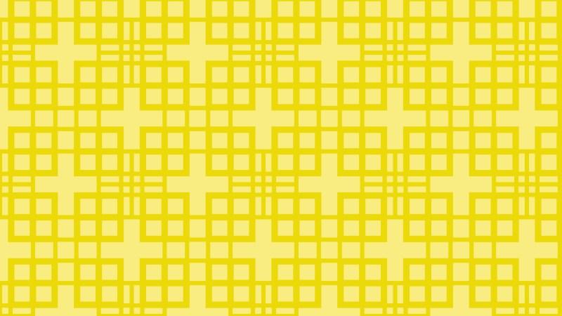 Yellow Seamless Geometric Square Pattern Background Illustrator
