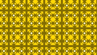 Yellow Square Pattern Background