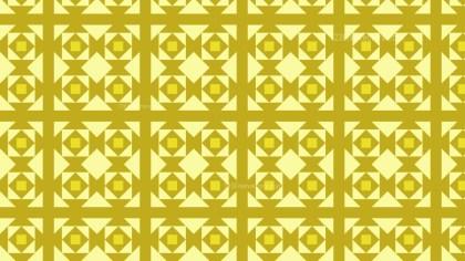 Yellow Geometric Square Pattern