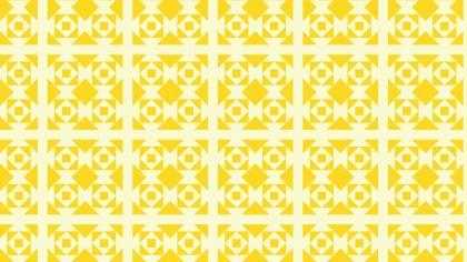 Light Yellow Geometric Square Pattern Background