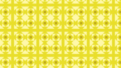 Yellow Seamless Square Background Pattern
