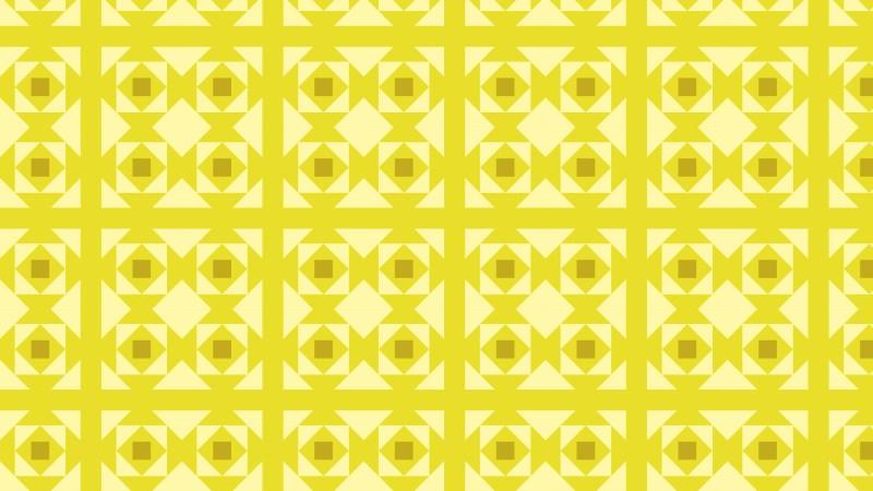 Yellow Seamless Square Background Pattern