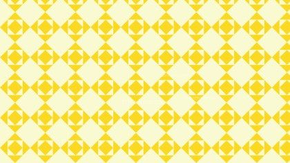 Light Yellow Seamless Geometric Square Background Pattern
