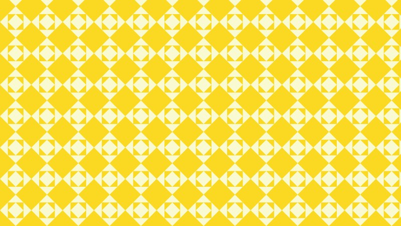 Yellow Square Pattern Graphic