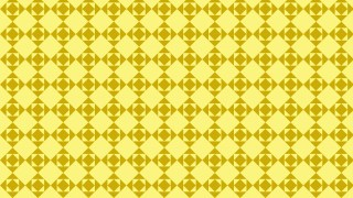 Yellow Square Pattern Background Illustration