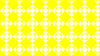 Yellow Seamless Square Pattern Illustrator