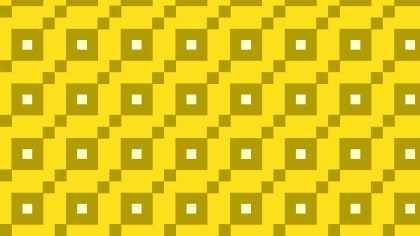 Yellow Seamless Square Background Pattern Vector