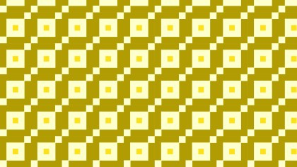 Yellow Seamless Geometric Square Pattern Vector Art