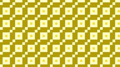 Yellow Seamless Geometric Square Pattern Vector Art