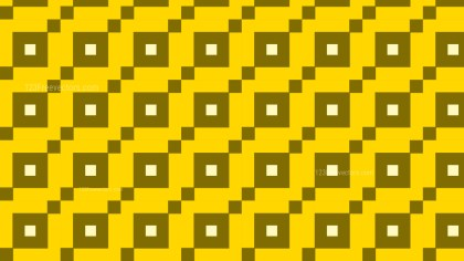 Yellow Seamless Geometric Square Background Pattern Illustration