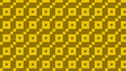 Yellow Geometric Square Pattern
