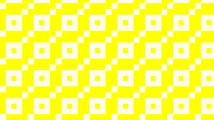 Light Yellow Seamless Square Background Pattern
