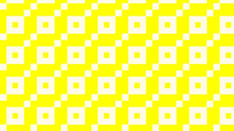 Light Yellow Seamless Square Background Pattern