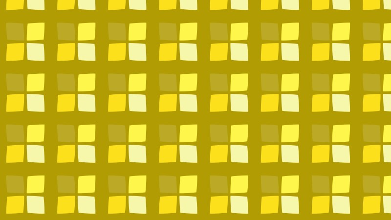 Yellow Seamless Geometric Square Pattern