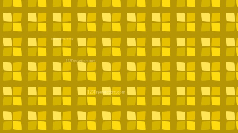 Gold Seamless Geometric Square Background Pattern