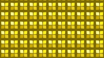 Yellow Square Pattern Vector Graphic