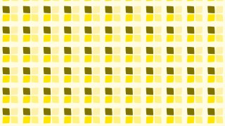 Yellow Square Pattern Background Vector Image