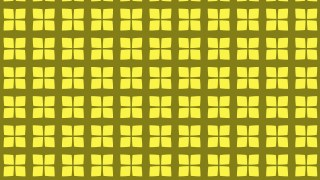 Yellow Geometric Square Pattern Background Vector