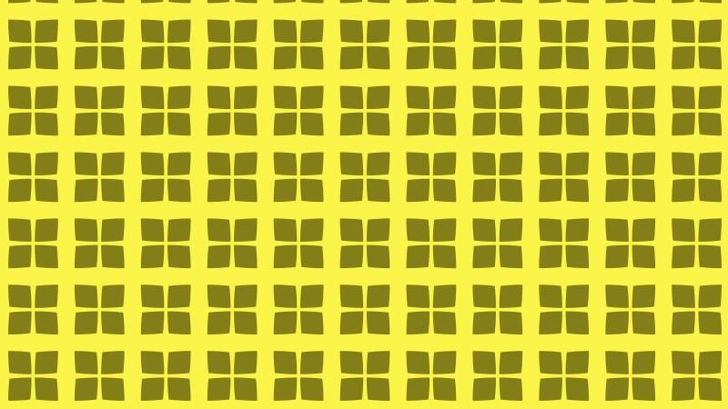 Yellow Geometric Square Background Pattern Vector Art