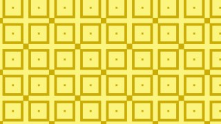 Yellow Seamless Square Pattern Graphic