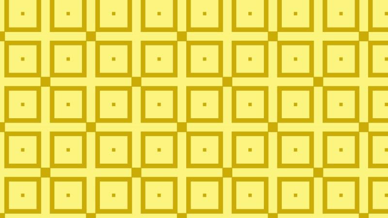 Yellow Seamless Square Pattern Graphic