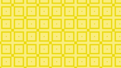 Yellow Seamless Square Background Pattern Design