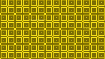 Yellow Seamless Geometric Square Background Pattern Vector Image