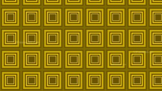 Yellow Seamless Concentric Squares Pattern Vector Image