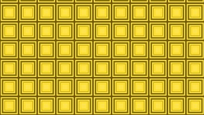 Yellow Seamless Concentric Squares Pattern Background Illustrator