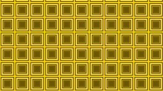 Yellow Seamless Concentric Squares Background Pattern Vector Illustration